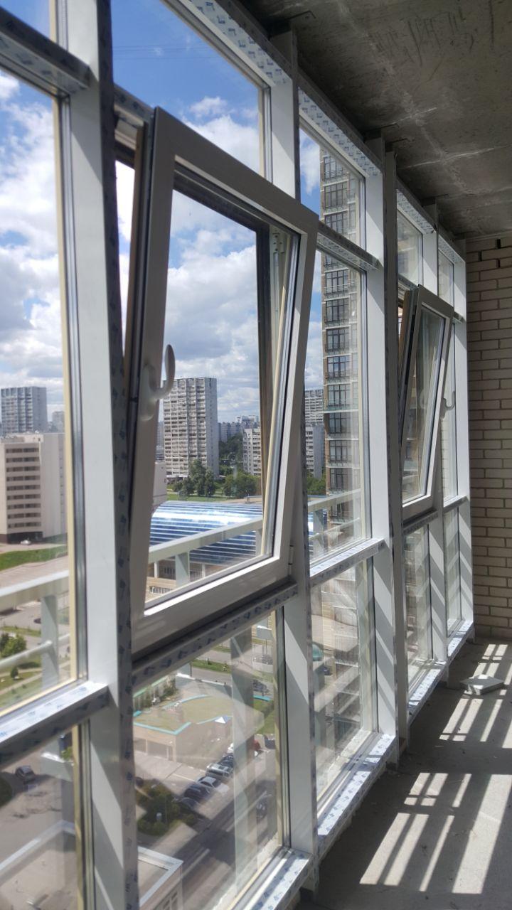 Остекление балконов и лоджий с утеплением allprofile.ru.