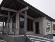 Алюминиевый профиль в деревянном доме фото. 2