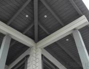 Алюминиевый профиль в деревянном доме фото. 4