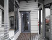 Алюминиевый профиль в деревянном доме фото. 5