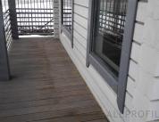 Алюминиевый профиль в деревянном доме фото. 8