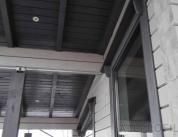 Алюминиевый профиль в деревянном доме фото. 9