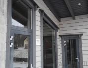 Алюминиевый профиль в деревянном доме фото. 10