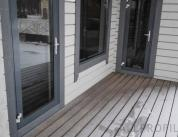 Алюминиевый профиль в деревянном доме фото. 11