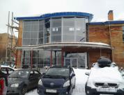 Фасад ресторана сложной формы фото 1