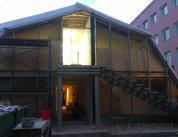 остекление фасада ангара фото 2