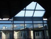 Стеклянная крыша из алюминиевого профиля фото 1