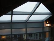 Стеклянная крыша из алюминиевого профиля фото 5