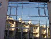 Остекление фасада алюминиевым профилем фото 2