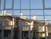 Остекление фасада алюминиевым профилем фото 3