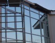 Остекление фасада алюминиевым профилем фото 6