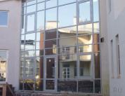 Остекление фасада алюминиевым профилем фото 9