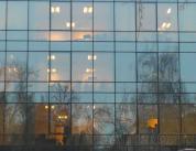 Остекление фасада алюминиевым профилем фото 14