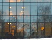 Остекление фасада алюминиевым профилем фото 15