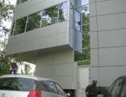 Остекление фасада алюминиевым профилем фото 17