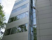Остекление фасада алюминиевым профилем фото 18
