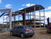 Строительство фасада спорткомплекса фото 1