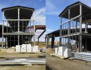 Строительство фасада спорткомплекса фото 3