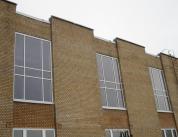 Фасад и окна промышленного здания