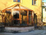 зимний сад пристройка фото 1