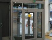 Входная дверная группа из алюминиевого профиля