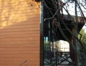 Зимняя комната отдыха. Дерево и алюминий, фото 11
