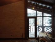 Зимняя комната отдыха. Дерево и алюминий, фото 14