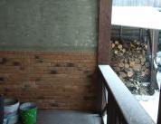 Зимняя комната отдыха. Дерево и алюминий, фото 25