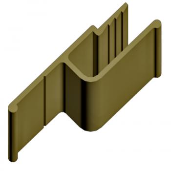Алюминиевый багет потолочный ap-003