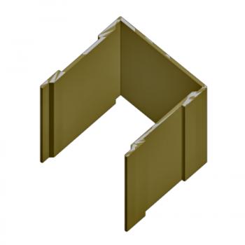 Направляющая одинарная верхняя для шкафов-купе