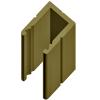 Алюминиевый багет потолочный ap-002
