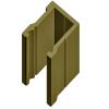 Алюминиевый багет потолочный ap-001